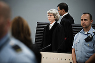 June 22, 2012 - Oslo, Norway: Wenche Elizabeth Arntzen, judge in the Breivik trial appears in the courtroom during the last day of the 10 week long trial.