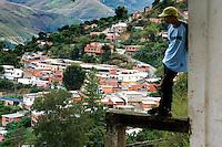 Caracas - Il barrio a nord della citta'