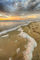 Cloudy sunrise at Carova Beach on the northern Outer Banks.