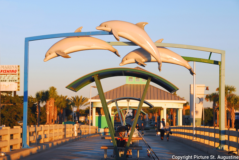 Vilano Beach Pier St Augustine Fl