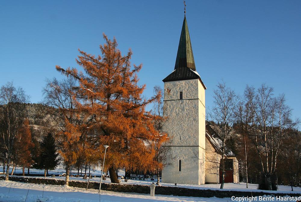 Selbu church, a medieval church in Selbu, Norway.