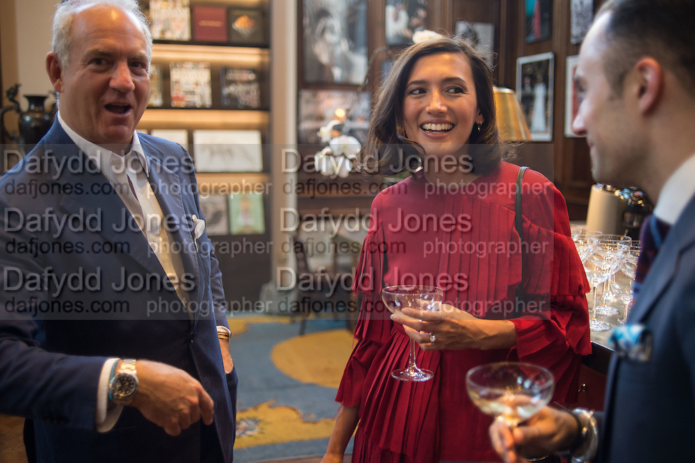 CHARLES FINCH; HIKARI YOKOYAMA, DARIUS NAMDAR, Charles Finch, Efe Cakarel & Hikari Yokoyama celebrate  Mubi with Doug Aitken.  Maison Assouline. Piccadilly. London. 25 June 2015