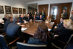 TechNet CEO's meeting with Senator Barbara Boxer on Capitol Hill