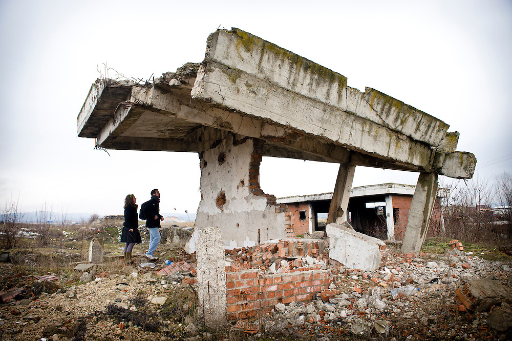 Komoran Village, Kosovo 19 February 2011<br /> Ruins of a house damaged during the Kosovo war 98-99.<br /> After the Kosovo War and the 1999 NATO bombing of Yugoslavia, the territory of Kosovo came under the interim administration of the United Nations Mission in Kosovo (UNMIK), and most of those roles were assumed by the European Union Rule of Law Mission in Kosovo (EULEX) in December 2008.<br /> In February 2008 individual members of the Assembly of Kosovo declared Kosovo's independence as the Republic of Kosovo. Its independence is recognised by 75 UN member states. On 8 October 2008, upon request of Serbia, the UN General Assembly adopted a resolution asking the International Court of Justice for an advisory opinion on the issue of Kosovo's declaration of independence. On 22 July 2010, the ICJ ruled that Kosovo's declaration of independence did not violate international law, which its president said contains no &quot;prohibitions on declarations of independence&quot;.<br /> Photo: Ezequiel Scagnetti