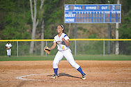 Oxford High's Ciara Steward reacts to the win vs. Ridgeland in girls high school softball action in Oxford, Miss on Saturday, April 20, 2013, 2013. Oxford won 9-3 to advance in the MHSAA Class 5A Playoffs.