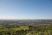 Panoramic View on Cheltenham Spa Town from Leckhampton Hill