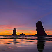 The Needles, Cannon Beach, OR.