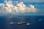 Carrier Strike Group Two CSG2 and Carrier Air Wing Eight CVW8 Deployment - Tomcat's Final Deployment