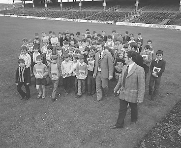 Tour groups visit Croke Park..04.07.1974  4th July 1974