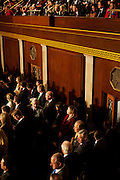 Onlookers as Republican Congressmen are sworn in at the beginning of the 112th Congress at the United States Capital in Washington, DC on Wednesday, January 5, 2011.
