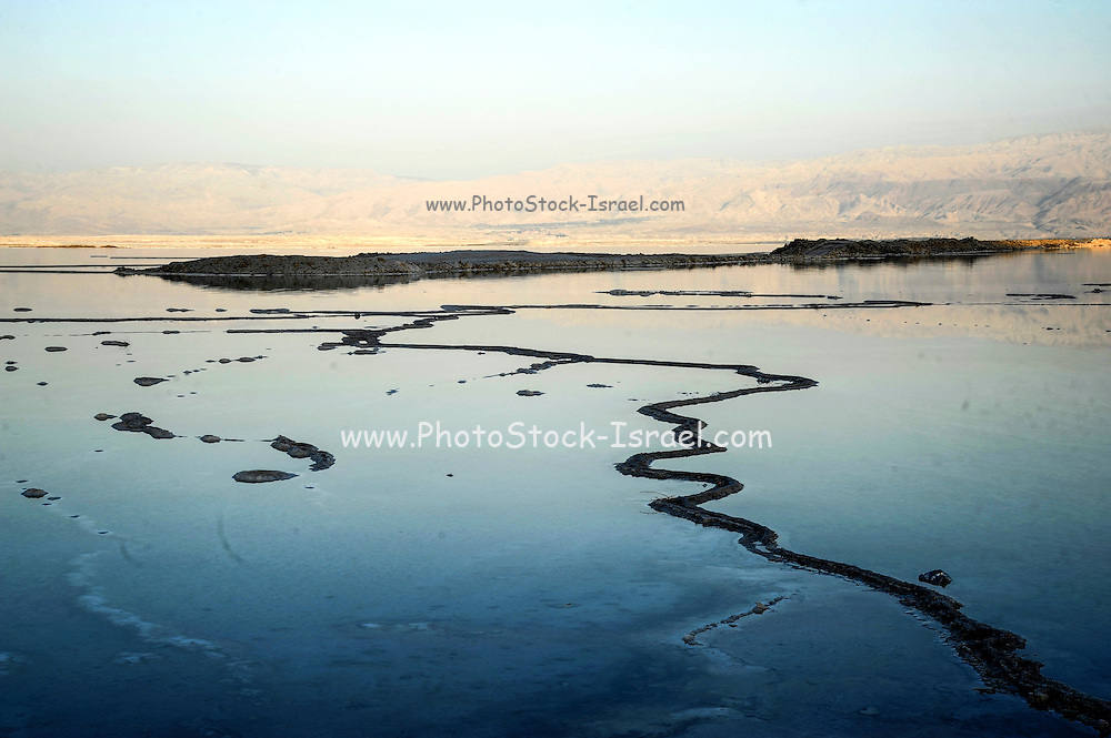 Dead sea, Israel at dusk