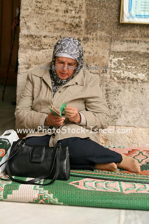 Turkish women in a street in Istanbul, Turkey