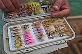 Saltwater Fly Gear Stock Photos