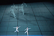 Lucinda Childs Dance Company perform DANCE at the Barbican Theatre, London