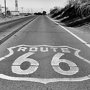 Route 66 near Oro Grande, California. .A trip through parts of Route 66 from Southern California to Arizona.