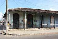 Street in San Antonio de Rio Blanco, Mayabeque, Cuba.