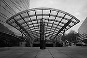 USA, Washington, DC. The Maryland Avenue entrance to the L'Enfant Plaza Metro station.