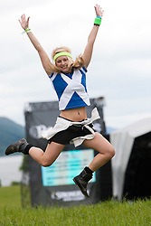 Elaine Lyall at Rockness main area..Rockness, Saturday 12th June 2010..Pic ©2010 Michael Schofield. All Rights Reserved.