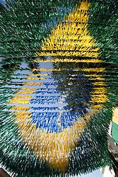 Enfeite de rua no Rio de Janeiro para a Copa do Mundo / A street adornment in Rio de Janeiro for the Soccer .World Cup