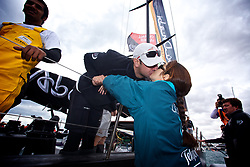 VOLVO OCEAN RACE 2011-2012.ALICANTE ,Spain,race start, first Leg..