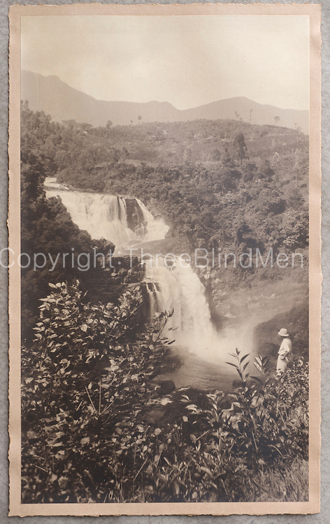 St. Clair Falls. 5Photo take from Mr. Balendran Collection. Kelaniya  Estate.