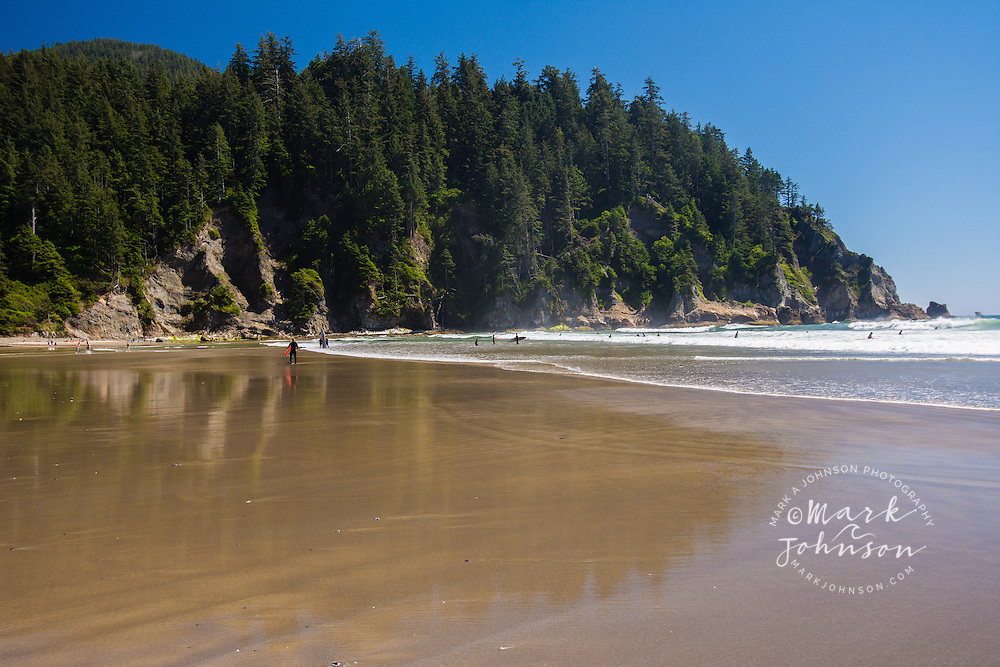 Short Sand Beach, Oswald West State Park, Oregon, USA