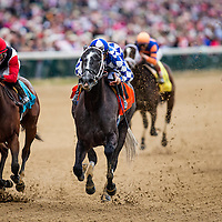 May 01, 2014: Fiftyshadesofgold with Mike Smith up wins the Eight Bells Stakes at Churchill Downs in Louisville Ky. Alex Evers/ESW/CSM