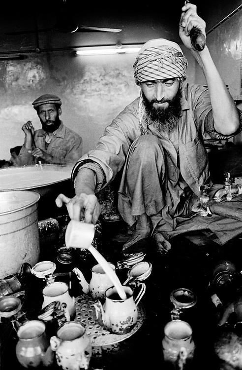 Tea house Old City Peshawar Pakistan....