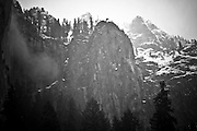 Winter Mountainscapes in Yosemite