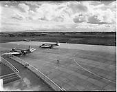 1958 - Reconstruction work at Dublin Airport.