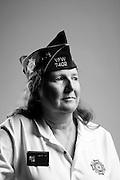 Gina Rhoden<br /> Air Force<br /> E-7<br /> Avionics Technician<br /> Jan. 1985 - Oct. 2009<br /> OIF<br /> <br /> Veterans Portrait Project<br /> St. Louis, MO