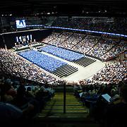 Undergraduate Commencement at Spokane Veterans Memorial Arena.<br /> Photo by Austin Ilg