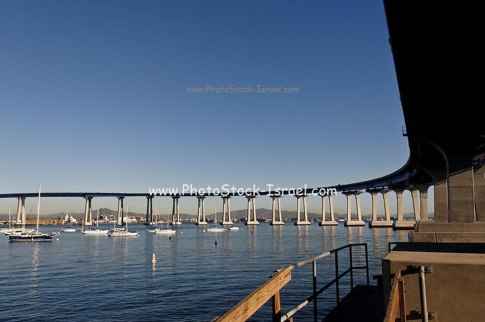 USA, California, San Diego Coronado Bridge