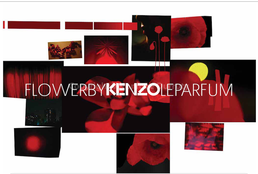 (c)Veronique Durruty for Kenzo perfumes