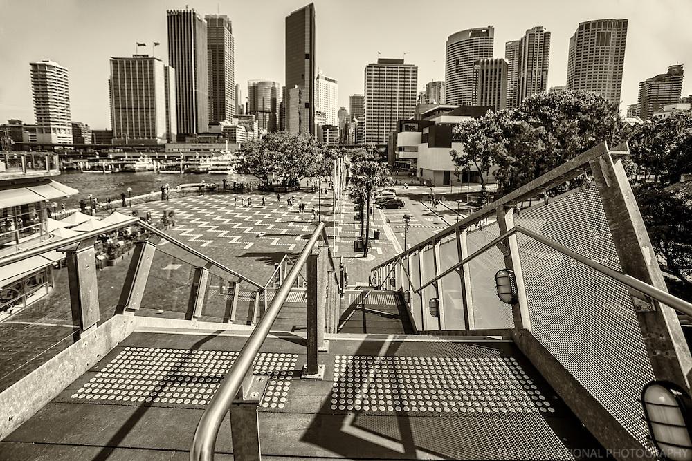 Skyline from Overseas Passenger Terminal, Sydney Cove