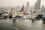 View of Chao Phraya River from Penninsula Bangkok