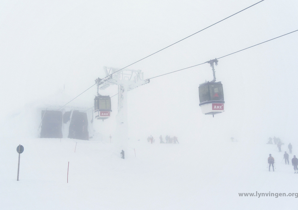 Ski lift at Åreskutan, Åre