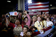 Supporters vie for photographs of Republican vice presidential candidate Rep. Paul Ryan at a campaign rally in Fredericksburg, Virginia October 16, 2012.