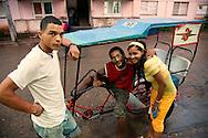 Bicitaxi in Baracoa, Guantanamo, Cuba.