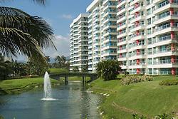 Condominium development in Acapulco.