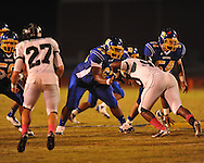 Oxford High's Clifton Smith (65) vs. Lake Cormorant in Oxford, Miss. on Friday, October 5, 2012. Oxford High won 26-0.