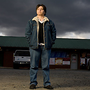 Lynndie England poses for a portrait at The Roadhouse Pub in Ft. Ashby, WV, on Thursday, Nov. 19, 2008. England, a former Army PFC with the 372nd MP Company, was pictured in numerous photos discovered in 2004 detailing prisoner abuse at Abu Ghraib prison in Iraq.  England served 18 months in prison and received a dishonorable discharge.