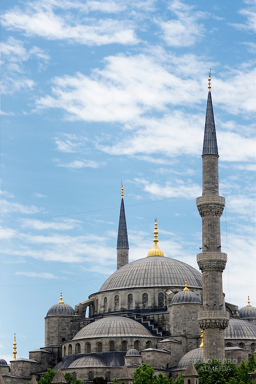 Dome and minarets of Blue Mosque