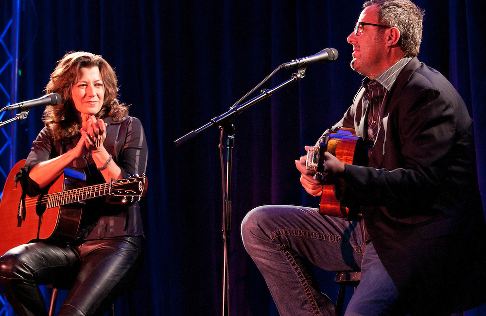 Amy Grant & Vince Gill.