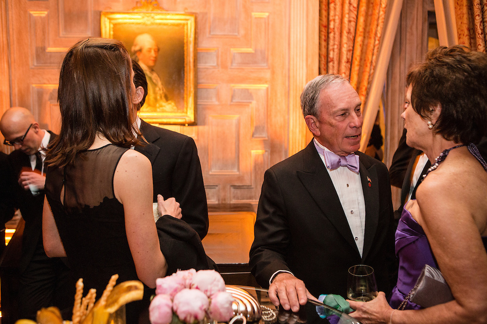 New York City Mayor Michael Bloomberg attends the Bloomberg Vanity Fair White House Correspondents' Association dinner afterparty at the residence of the French Ambassador on Saturday, April 28, 2012 in Washington, DC. Brendan Hoffman for the New York Times