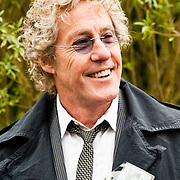 LONDON, UK - 21 May 2012: Roger Daltrey, founder and lead singer of English rock band The Who at the RHS Chelsea Flower Show 2012.