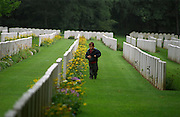 ETAPLES CEMETERY, FRANCE..This cemetery contains 10,773 burials from the first world war and is the largest CWGC cemetery in France. The cemetery was designed by Sir Edwin Lutyens.. THE WW1-1914-1918 CEMETERIES AND MEMORIALS MAINTAINED BY THE COMMONWEALTH WAR GRAVES COMMISSION..COPYRIGHT PHOTOGRAPH BY BRIAN HARRIS  © 2006.0044(0)7808-579804-brianharrisphoto@ntlworld.com OR brian@brianharrisphotographer.co.uk