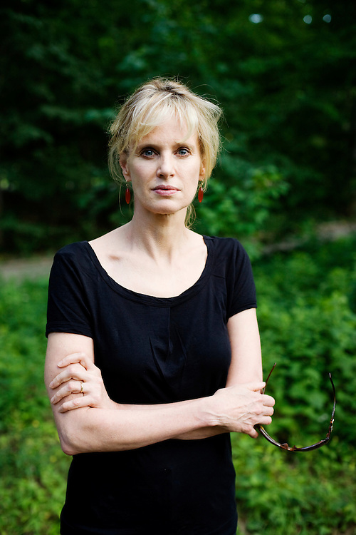 Author Siri Hustvedt in New York.<br /> <br /> Photo by Knut Egil Wang /MOMENT