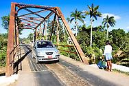 Bridge in Puente de Cabeza, Pinar del Rio, Cuba.