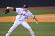 Ole Miss' Matt Tracy (29) pitches against Austin Peay at Oxford-University Stadium in Oxford, Miss. on Tuesday, March 1, 2010.